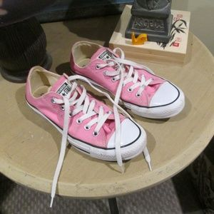 PINK Converse All Star Low Top Gym Shoes Sneakers